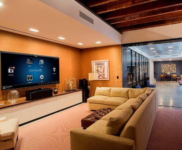 Home theatre - lighting automation
